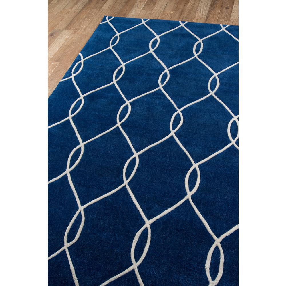 "Bliss Area Rug, Navy, 2'3"" X 8' Runner. Picture 2"