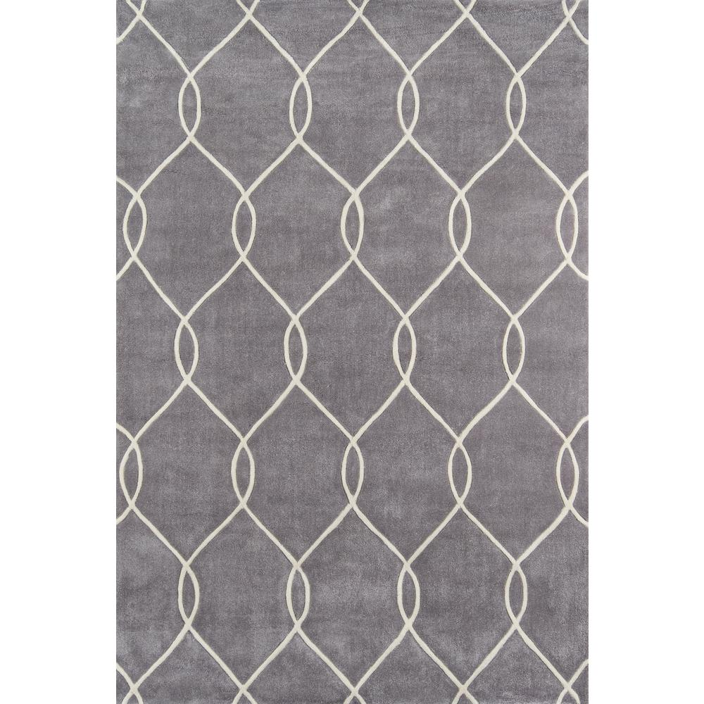 """Bliss Area Rug, Steel, 3'6"""" X 5'6"""". Picture 1"""
