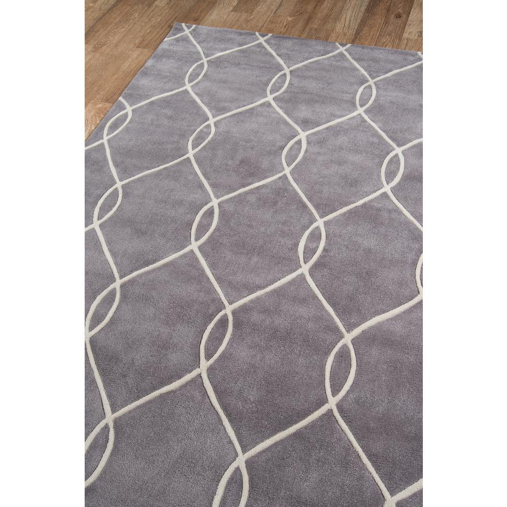 """Bliss Area Rug, Steel, 3'6"""" X 5'6"""". Picture 2"""