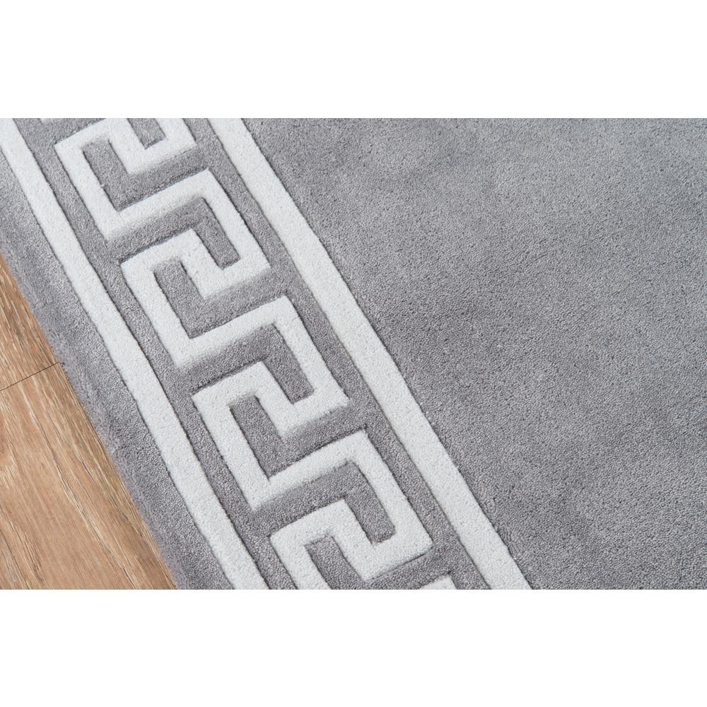 """Bliss Area Rug, Grey, 3'6"""" X 5'6"""". Picture 3"""