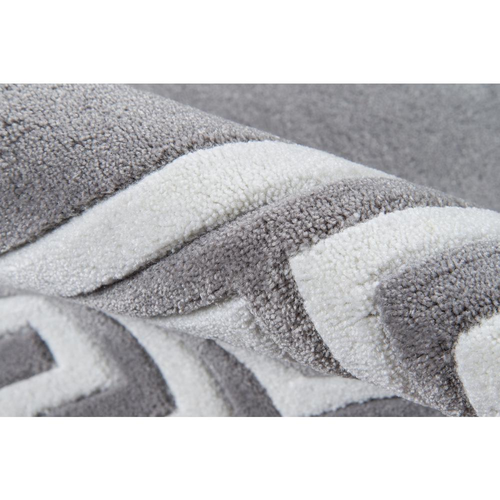 """Bliss Area Rug, Grey, 3'6"""" X 5'6"""". Picture 4"""