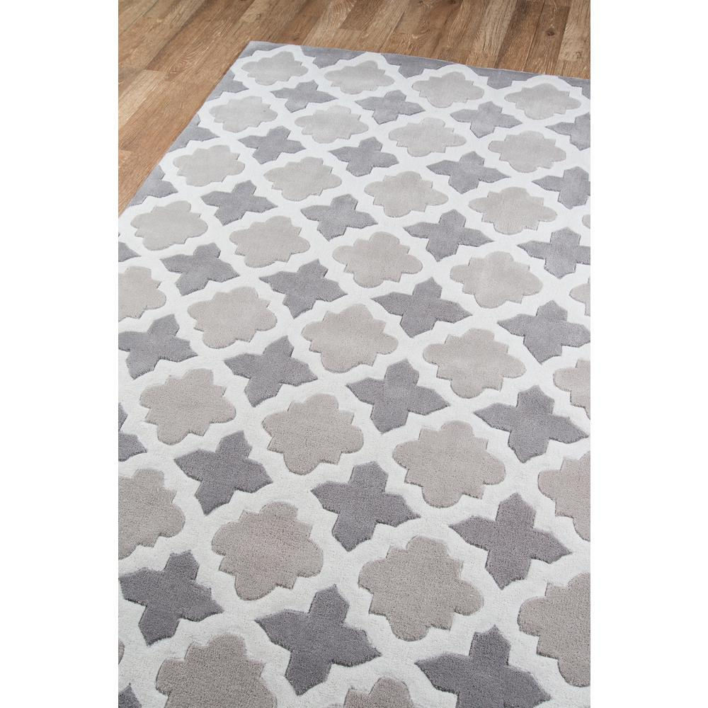 """Bliss Area Rug, Grey, 3'6"""" X 5'6"""". Picture 2"""