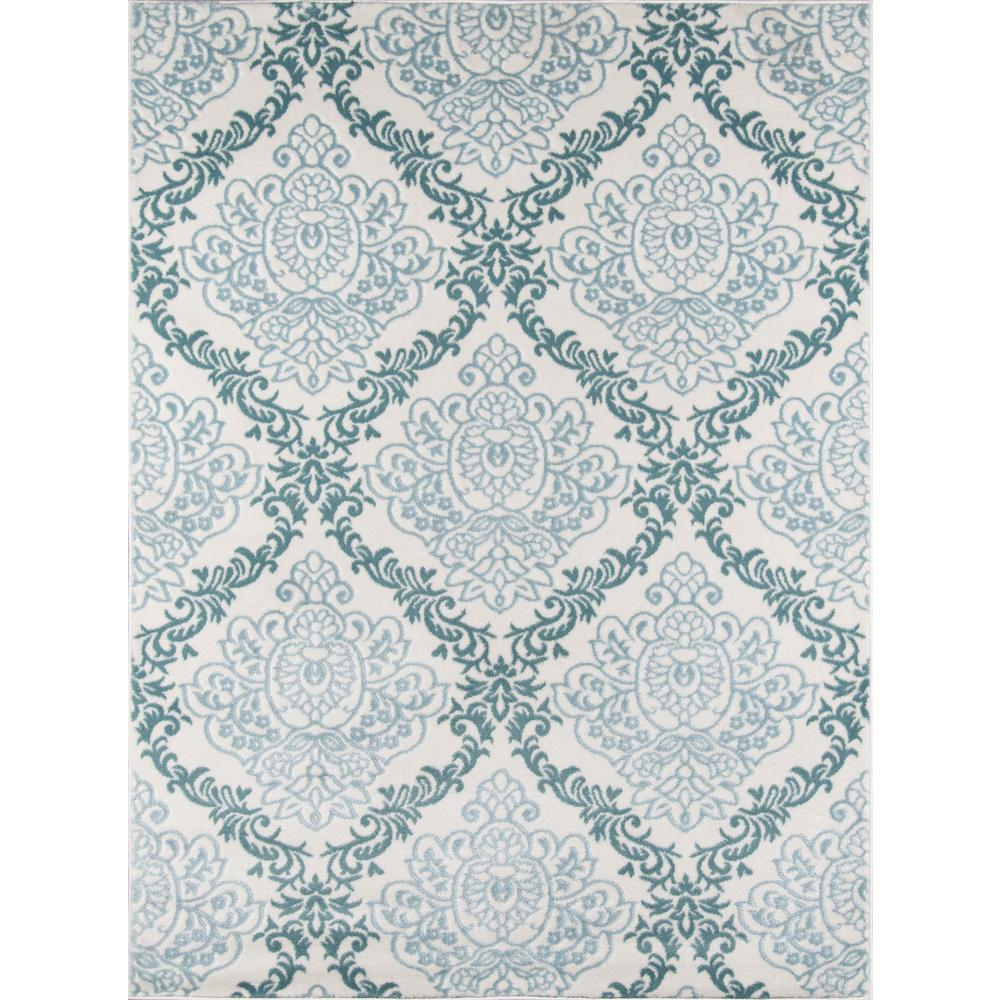 "Brooklyn Heights Area Rug, Ivory, 2'3"" X 7'6"" Runner. Picture 1"