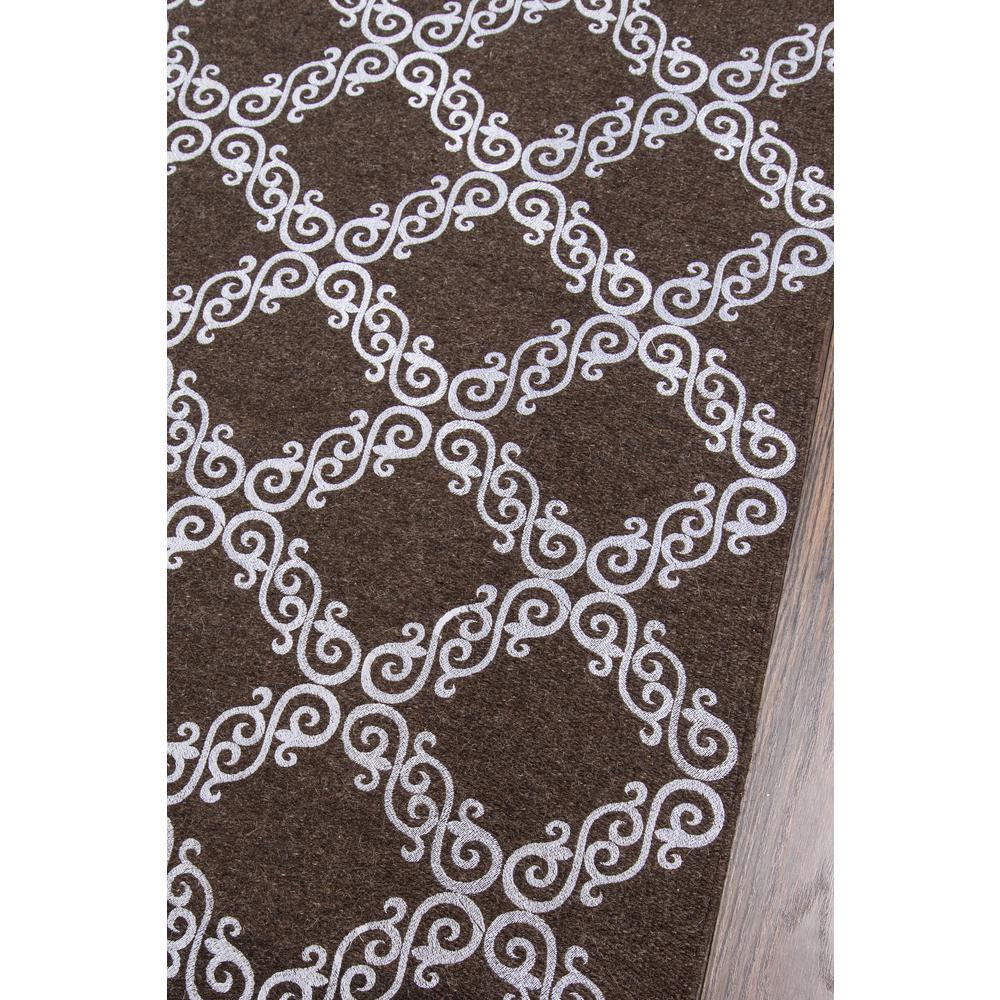 """Cielo Area Rug, Brown, 2'3"""" X 8' Runner. Picture 2"""