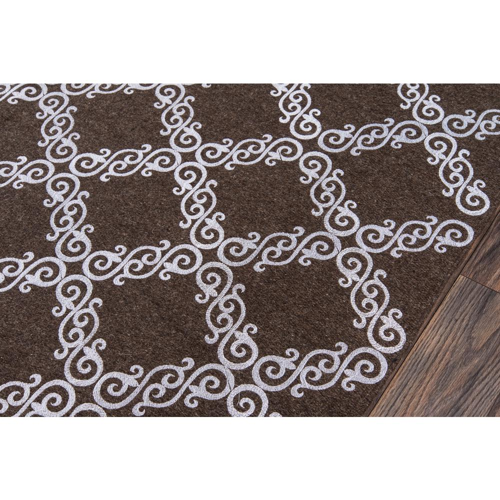 """Cielo Area Rug, Brown, 2'3"""" X 8' Runner. Picture 3"""