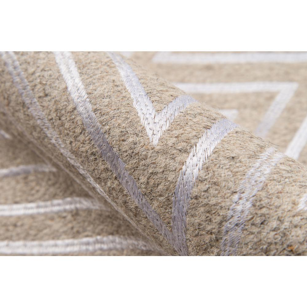 """Cielo Area Rug, Sand, 3'6"""" X 5'6"""". Picture 4"""