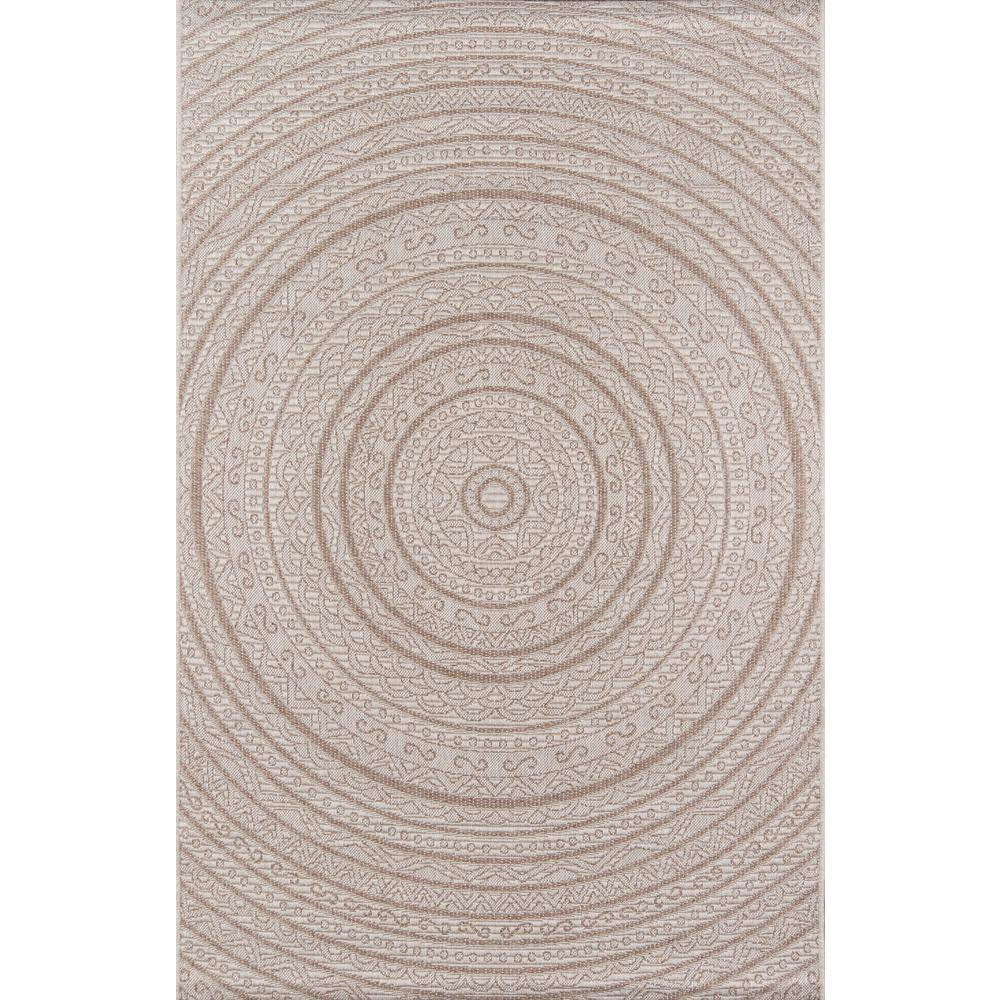 "Como Area Rug, Tan, 2'7"" X 7'6"" Runner. Picture 1"
