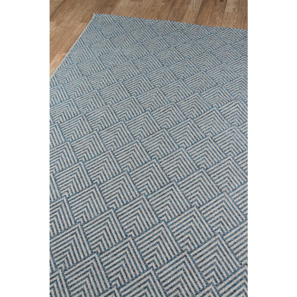 Como Area Rug, Blue, 2' X 6' Runner. Picture 2