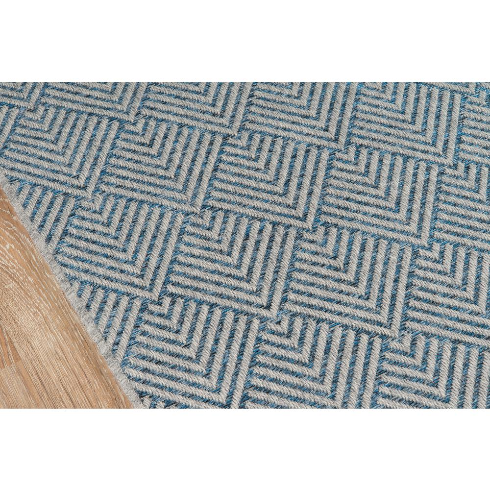 Como Area Rug, Blue, 2' X 6' Runner. Picture 3