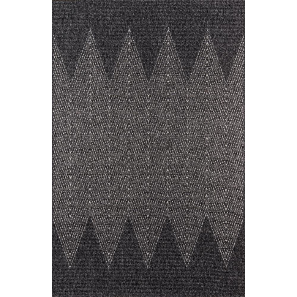 Como Area Rug, Charcoal, 2' X 6' Runner. Picture 1