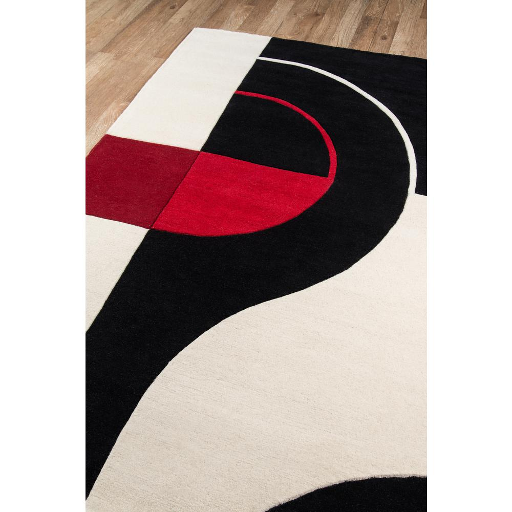"Delhi Area Rug, Black, 3'6"" X 5'6"". Picture 2"