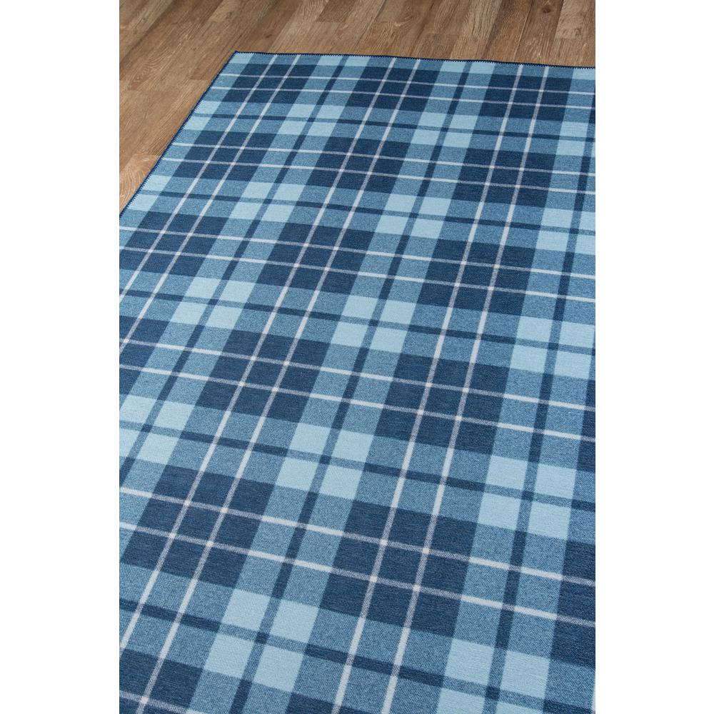 """District Area Rug, Blue, 5' X 7'6"""". Picture 2"""