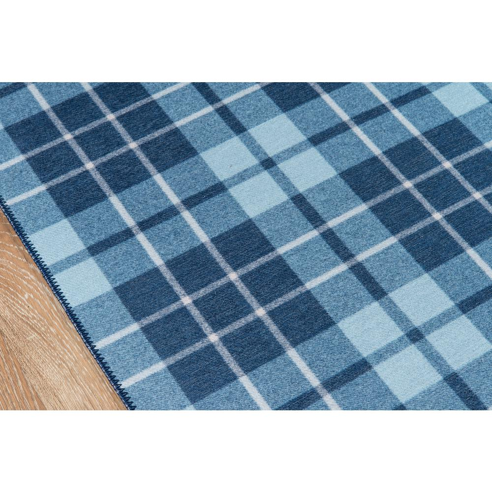 """District Area Rug, Blue, 5' X 7'6"""". Picture 3"""
