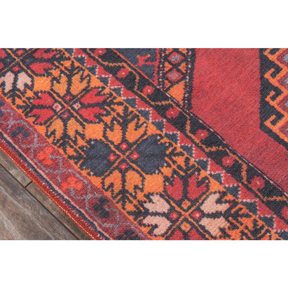Afshar Area Rug, Red, 3' X 5'. Picture 3