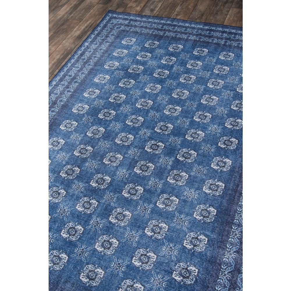 Afshar Area Rug, Blue, 3' X 5'. Picture 2