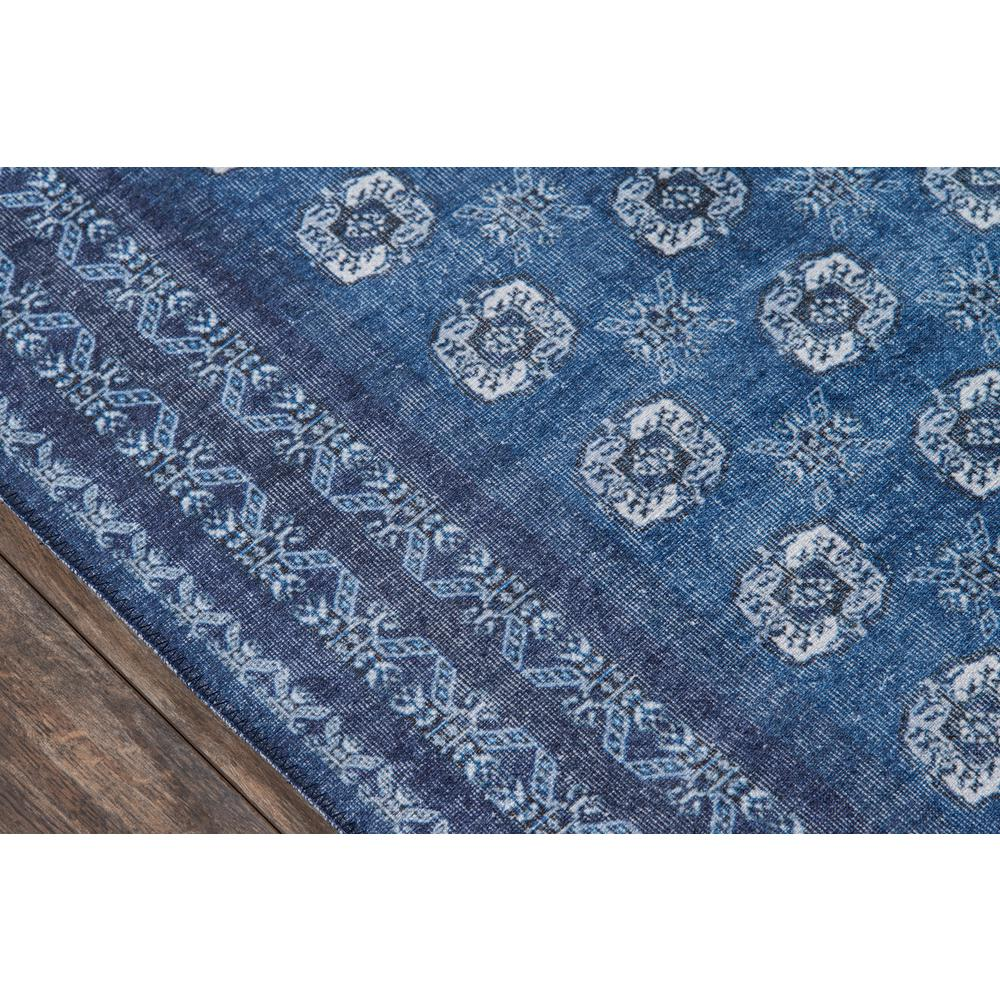 Afshar Area Rug, Blue, 3' X 5'. Picture 3