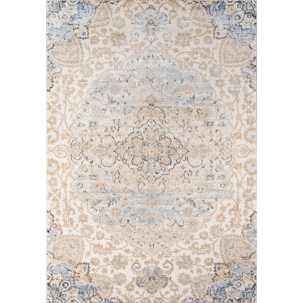 "Amelia Area Rug, Beige, 3'11"" X 5'7"". The main picture."
