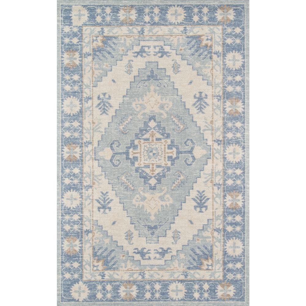 "Anatolia Area Rug, Blue, 3'3"" X 5'. Picture 1"