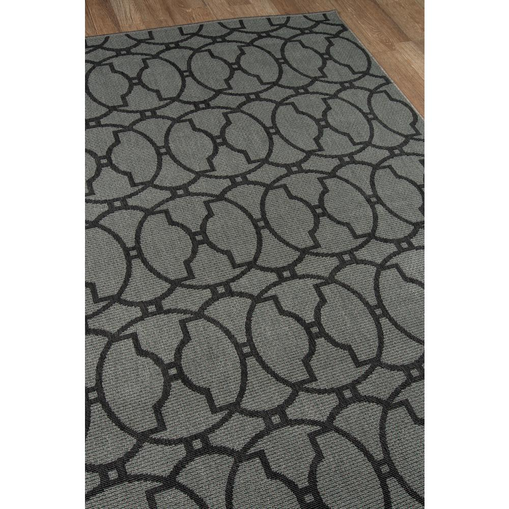 """Baja Area Rug, Charcoal, 2'3"""" X 7'6"""" Runner. Picture 2"""