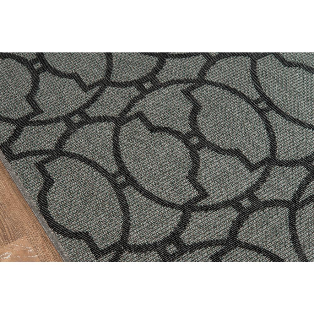 """Baja Area Rug, Charcoal, 2'3"""" X 7'6"""" Runner. Picture 3"""