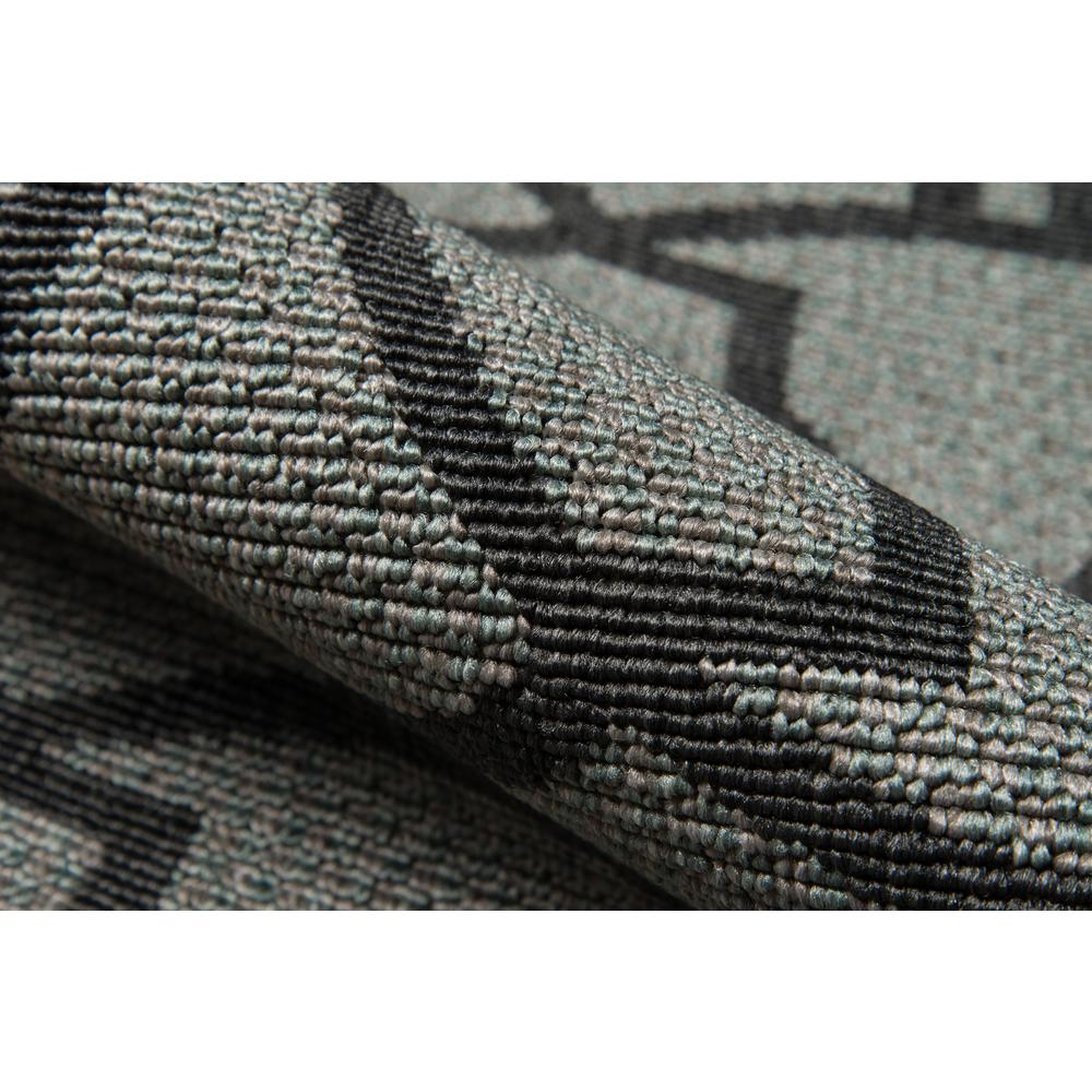 """Baja Area Rug, Charcoal, 2'3"""" X 7'6"""" Runner. Picture 4"""