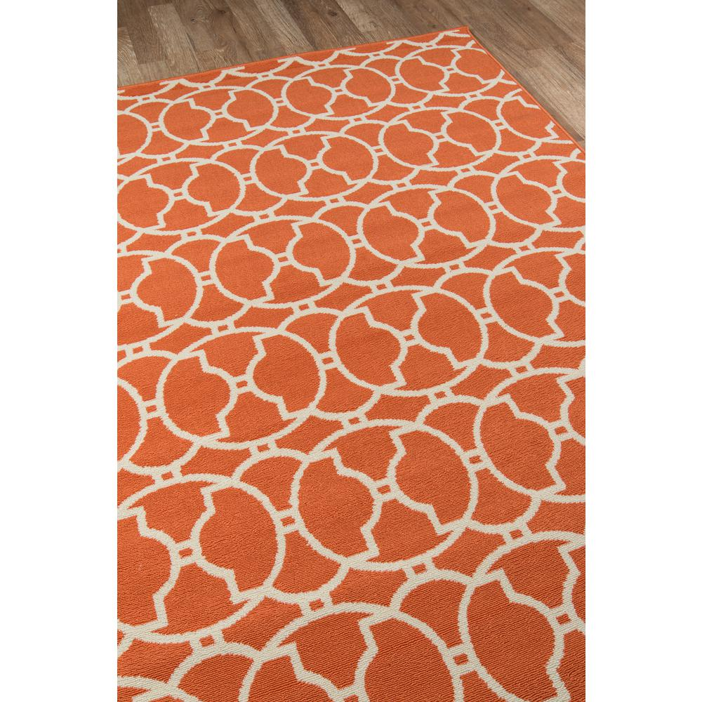 "Baja Area Rug, Orange, 2'3"" X 7'6"" Runner. Picture 2"
