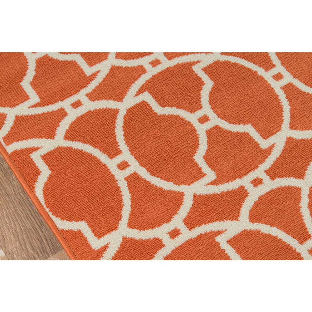 "Baja Area Rug, Orange, 2'3"" X 7'6"" Runner. Picture 3"