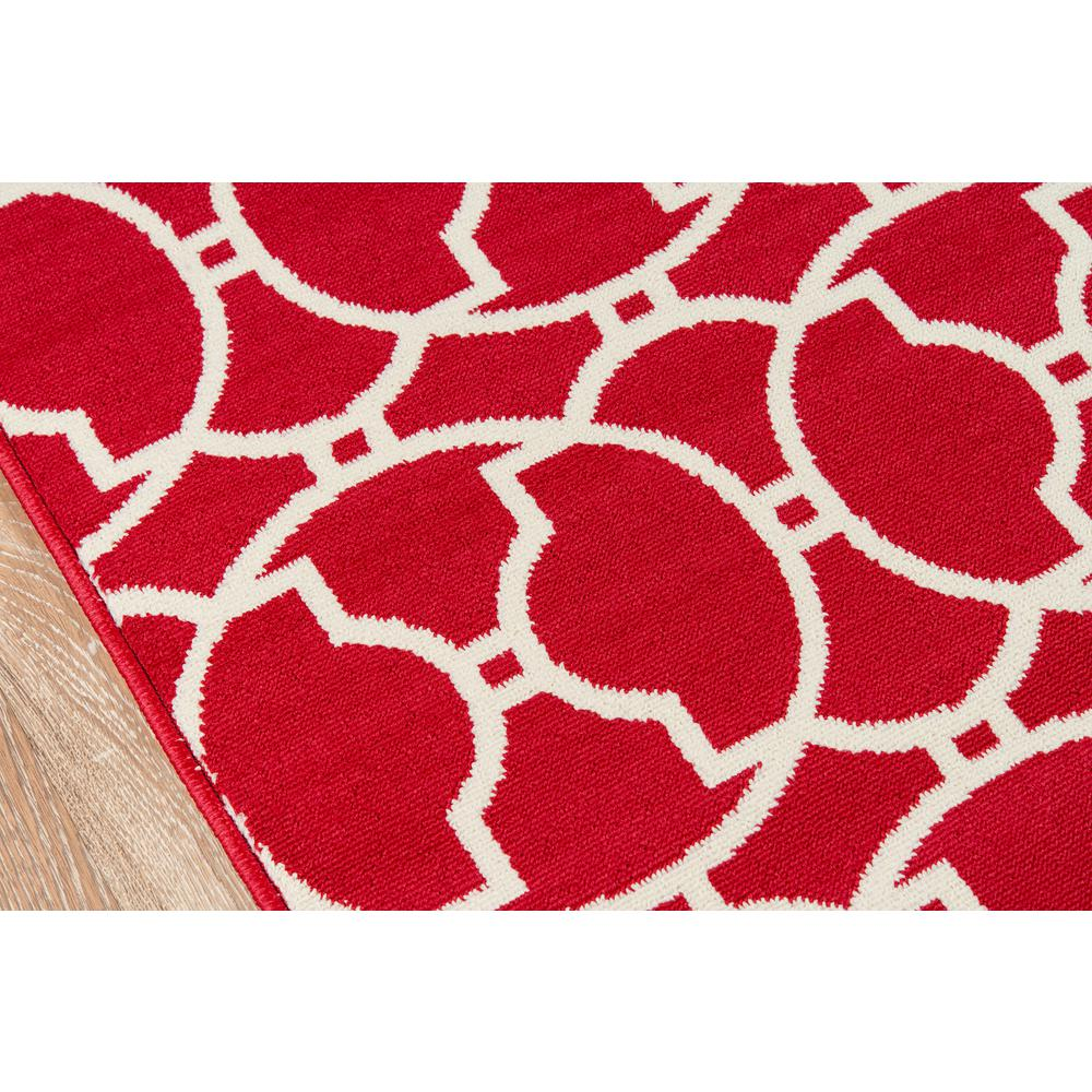 "Baja Area Rug, Red, 2'3"" X 7'6"" Runner. Picture 3"