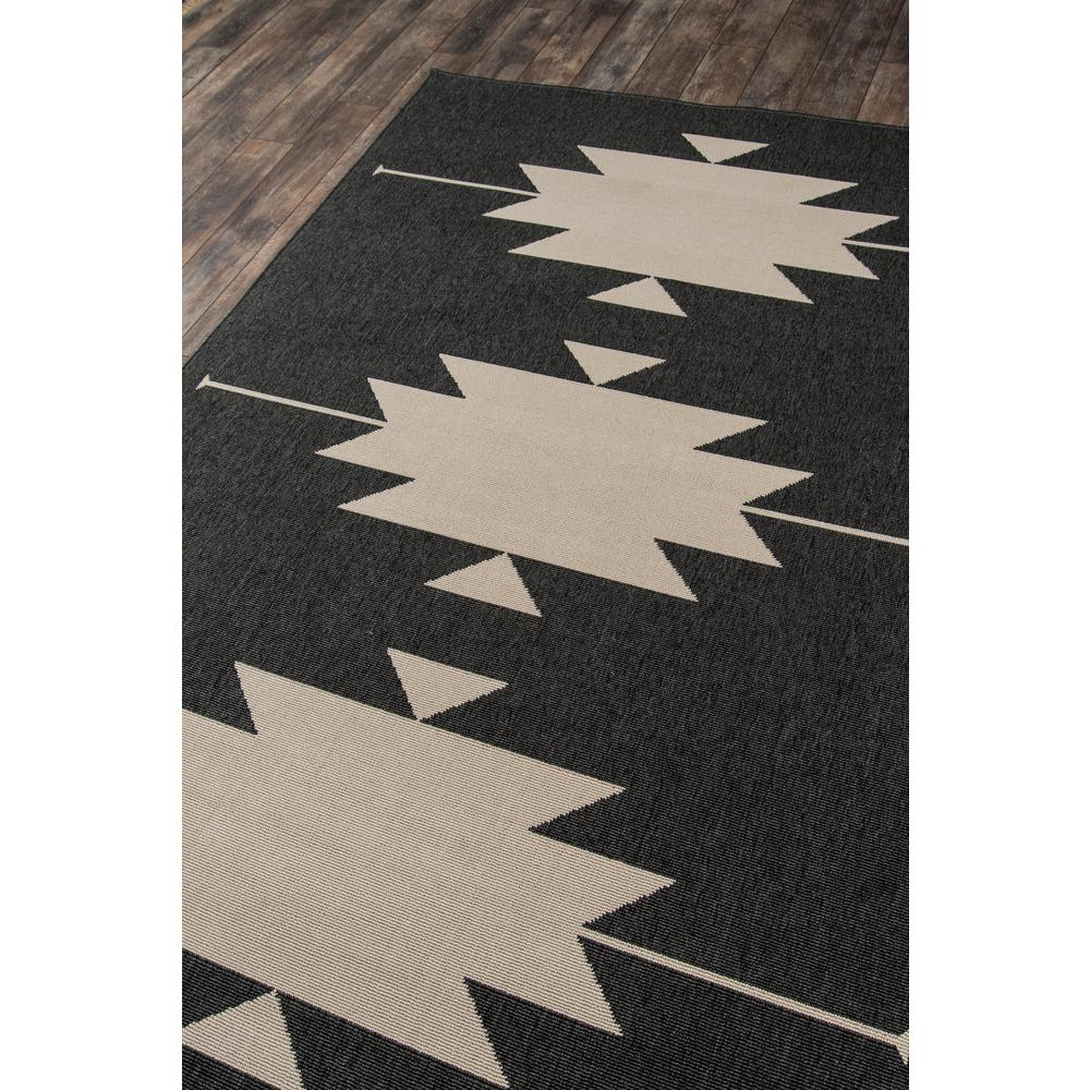 "Baja Area Rug, Charcoal, 2'3"" X 7'6"" Runner. Picture 2"