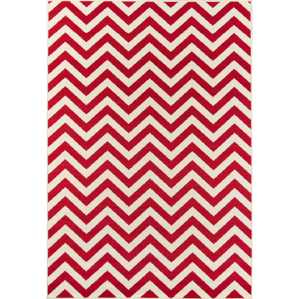 """Baja Area Rug, Red, 2'3"""" X 7'6"""" Runner. Picture 1"""