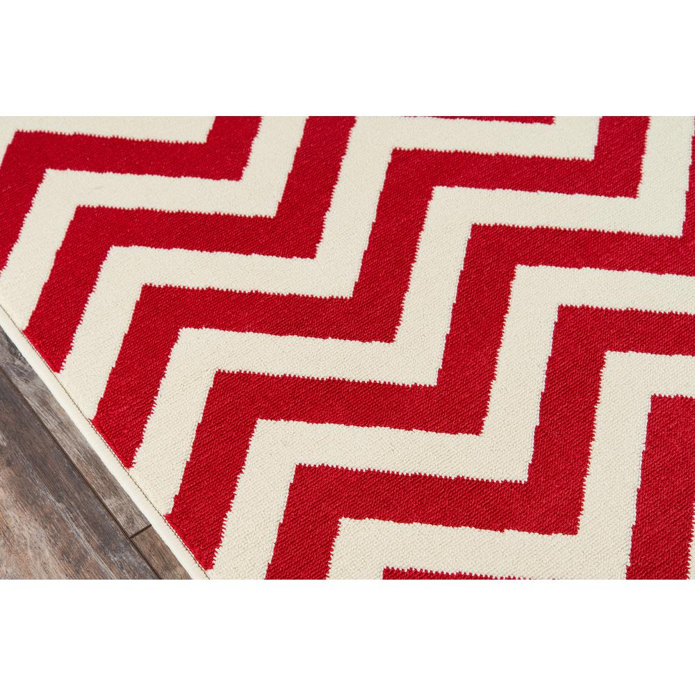 """Baja Area Rug, Red, 2'3"""" X 7'6"""" Runner. Picture 3"""