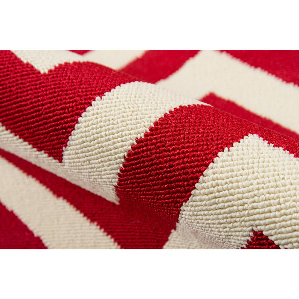 """Baja Area Rug, Red, 2'3"""" X 7'6"""" Runner. Picture 4"""