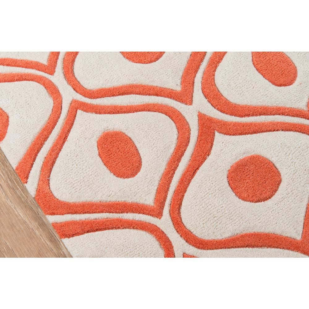 Bliss Area Rug, Orange, 8' X 10'. Picture 3