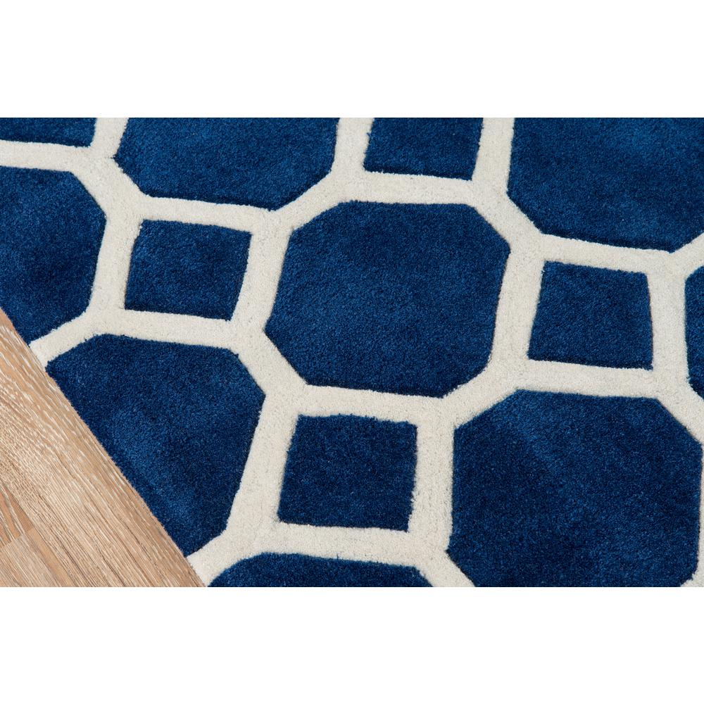 """Bliss Area Rug, Navy, 3'6"""" X 5'6"""". Picture 3"""