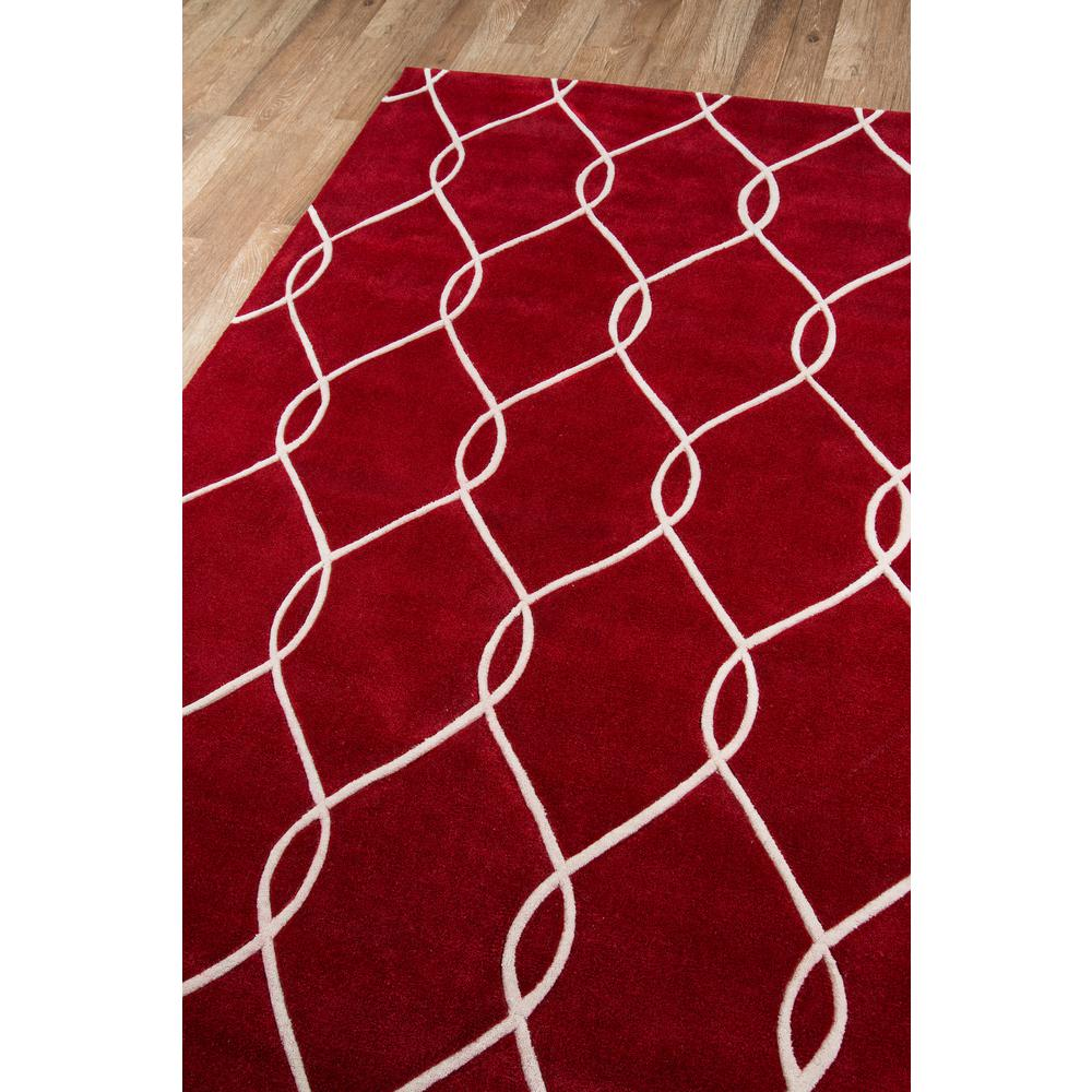 """Bliss Area Rug, Red, 3'6"""" X 5'6"""". Picture 2"""