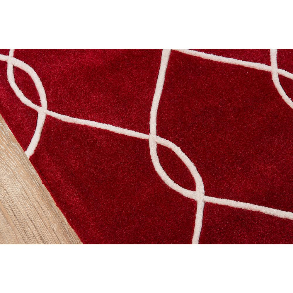 """Bliss Area Rug, Red, 3'6"""" X 5'6"""". Picture 3"""