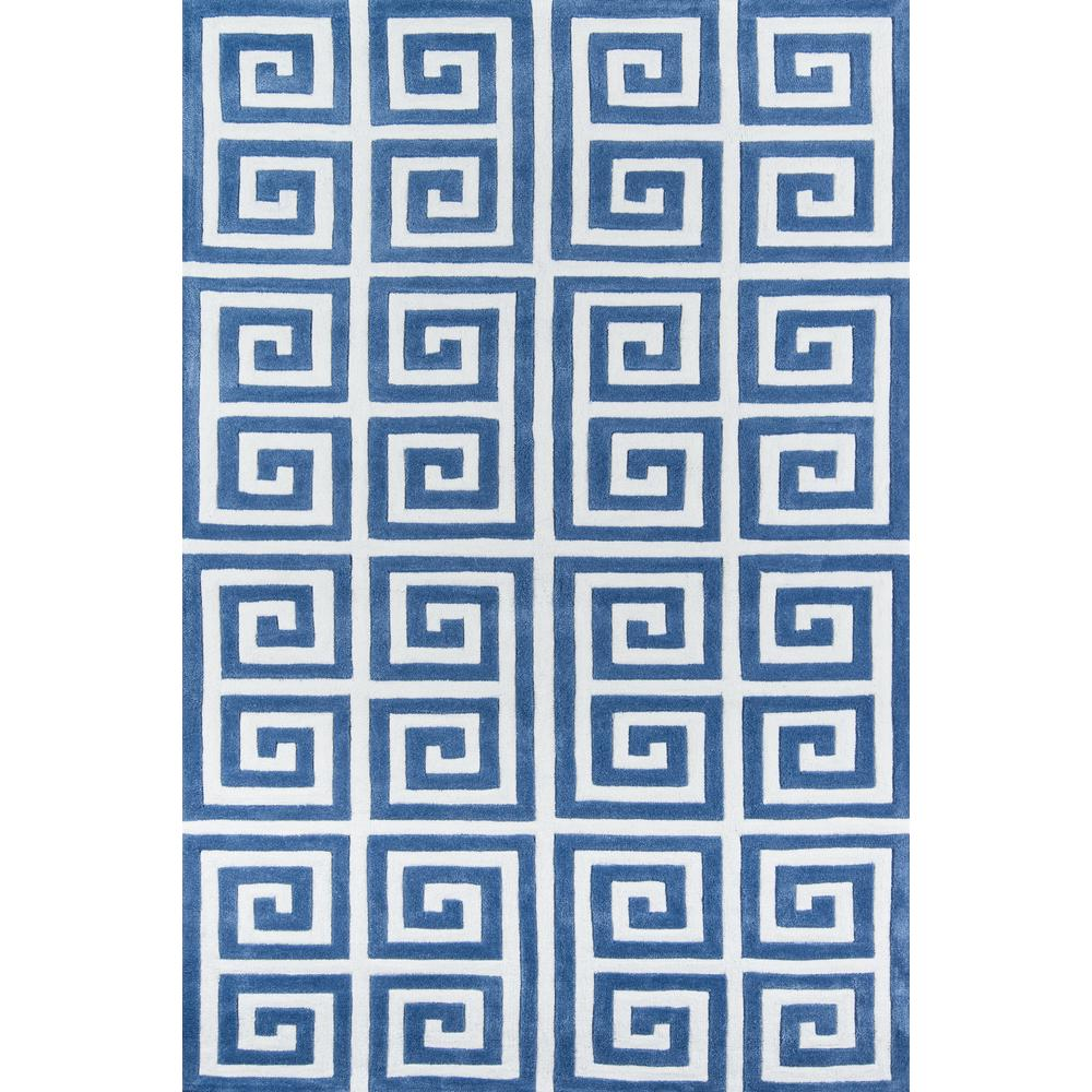 Bliss Area Rug, Denim, 8' X 10'. Picture 1