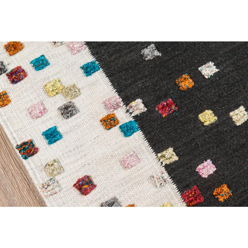 """Boho Area Rug, Charcoal, 3'6"""" X 5'6"""". Picture 3"""