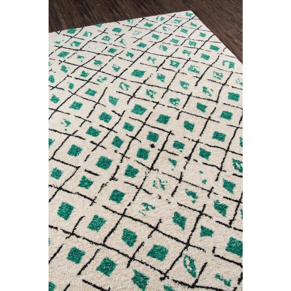 """Bungalow Area Rug, Green, 5' X 7'6"""". Picture 2"""