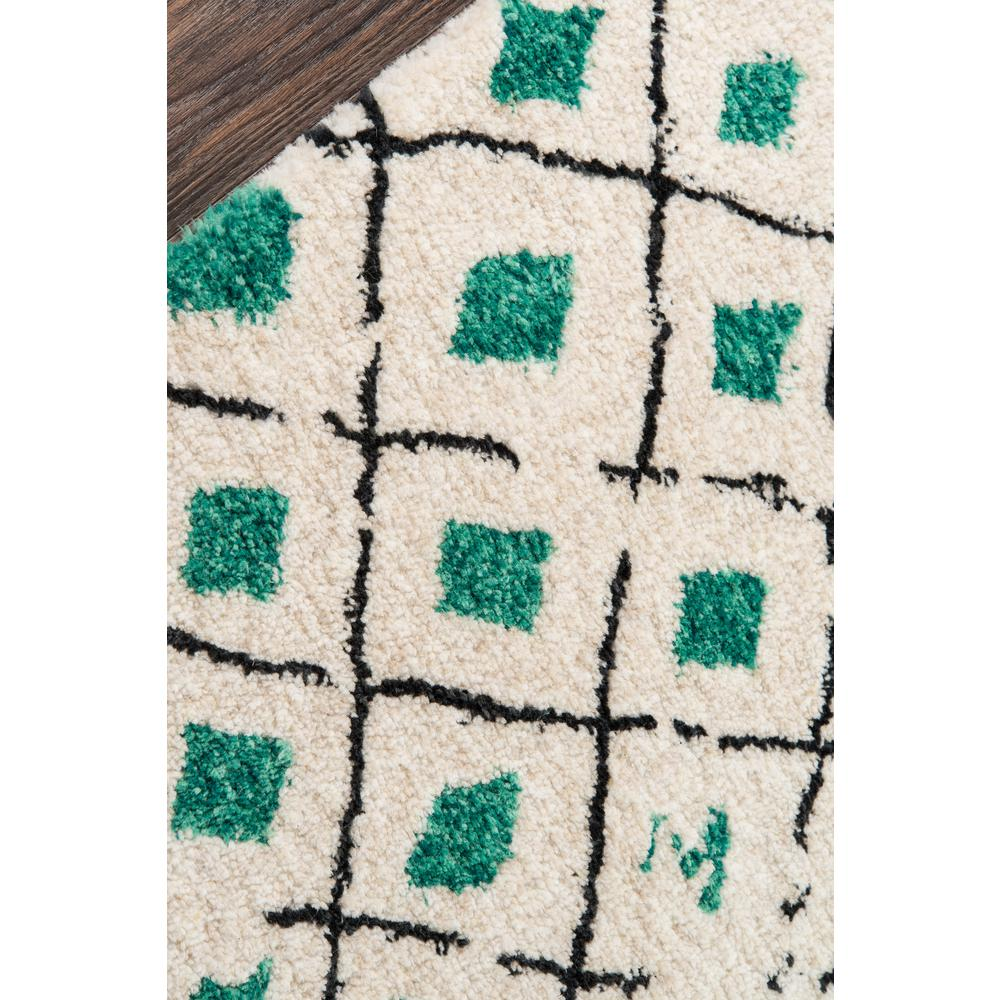 """Bungalow Area Rug, Green, 5' X 7'6"""". Picture 3"""