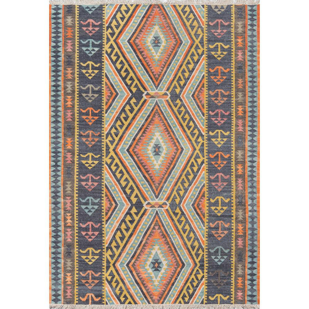 "Caravan Area Rug, Multi, 3'9"" X 5'9"". Picture 1"