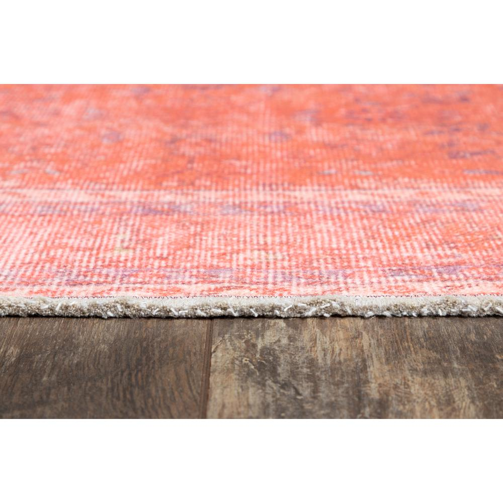 Chandler Area Rug, Coral, 4' X 6'. Picture 3