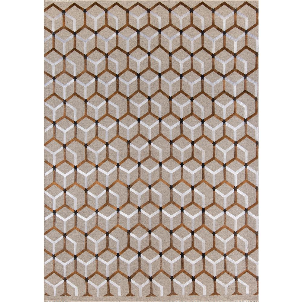 Cielo Area Rug, Copper, 8' X 10'. The main picture.