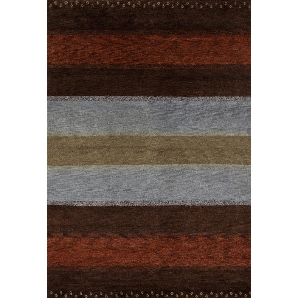 "Desert Gabbeh Area Rug, Multi, 3'9"" X 5'9"". The main picture."
