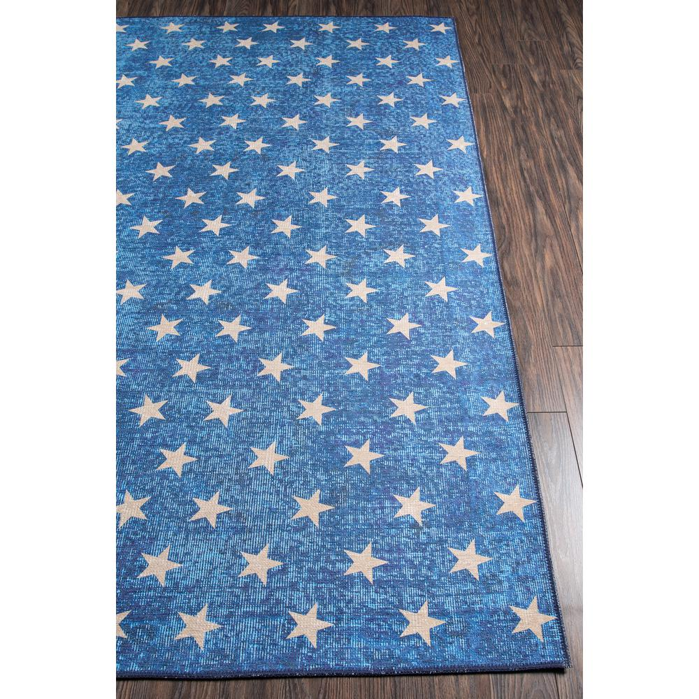 """District Area Rug, Blue, 7'6"""" X 9'6"""". Picture 2"""