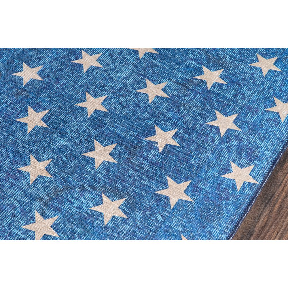 """District Area Rug, Blue, 7'6"""" X 9'6"""". Picture 3"""
