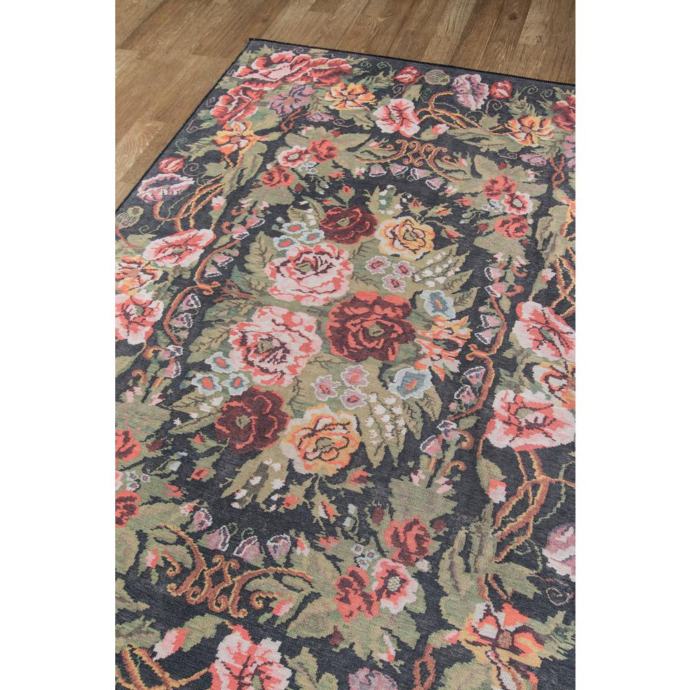 "Afshar Area Rug, Black, 5' X 7'6"". Picture 2"