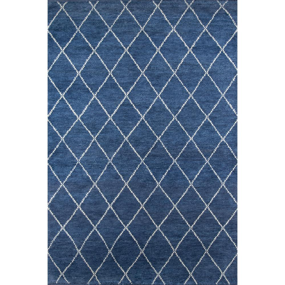 Atlas Area Rug, Navy, 5' X 8'. Picture 1