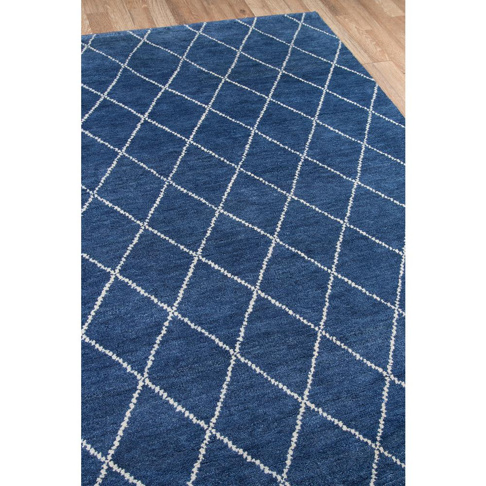 Atlas Area Rug, Navy, 5' X 8'. Picture 2