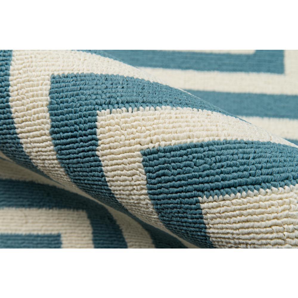 "Baja Area Rug, Blue, 3'11"" X 5'7"". Picture 4"